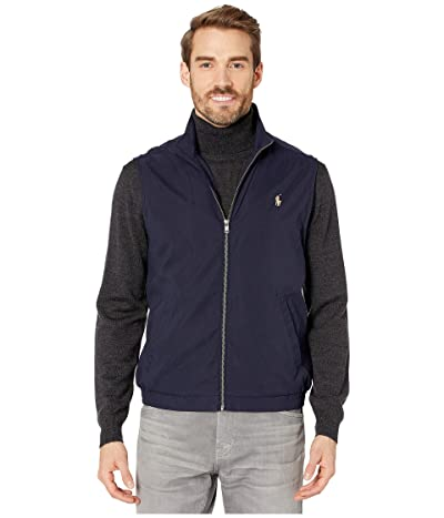 Polo Ralph Lauren Windbreaker Vest (Aviator Navy) Men