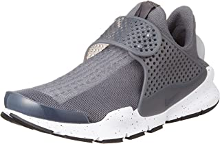 Mens Sock Dart Wlf Gry/Wlf Gry/White/Pnk/Blst Running Shoe (11)
