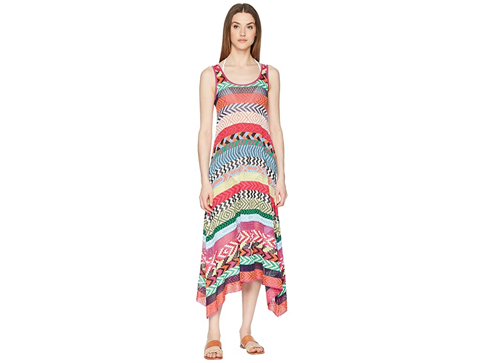 Mary Katrantzou Leandra Dress Fira Stripe Knit Cover-Up (Multi) Women