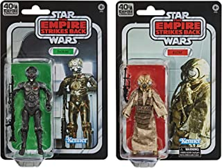 Star Wars The Black Series 4-LOM and Zuckuss Toys 6-Inch-Scale The Empire Strikes Back Collectible Figures 2-Pack (Amazon Exclusive)