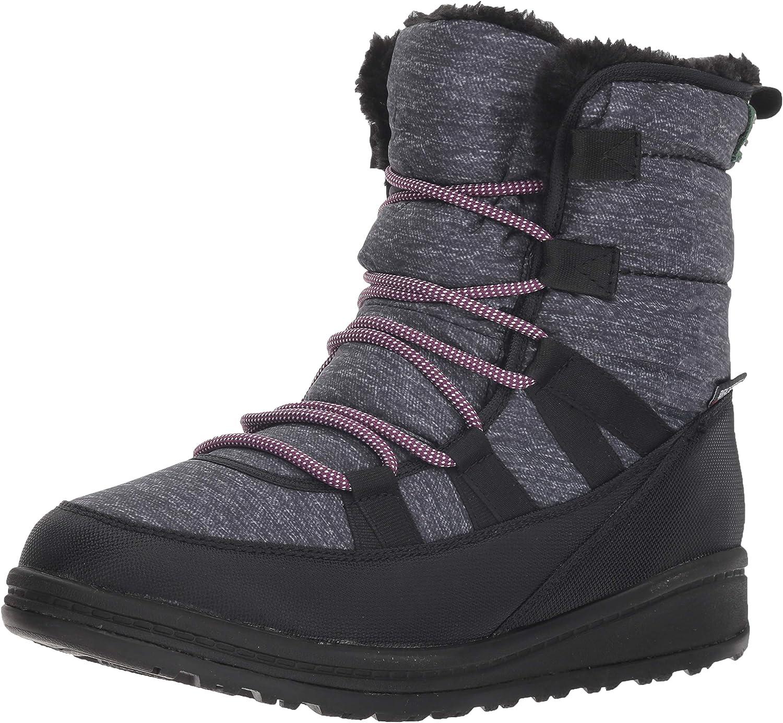 Kamik Women's VULPEXLO Snow Boot, black, 9 Medium US