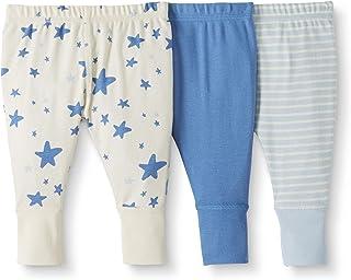 Moon and Back by Hanna Andersson - Confezione da 3 pantaloni da tuta in cotone biologico - per bambini piccoli