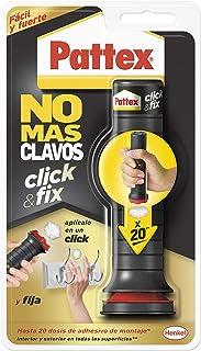 Pattex No Más Clavos Click&Fix, adhesivo de montaje de