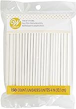 Wilton 1912-1001 4-Inch Lollipop Sticks, 150/ Pack