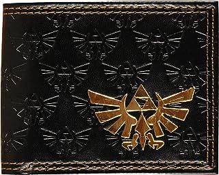 ゼルダの伝説 ブラック ロゴ 折財布 アメリカ輸入品 任天堂