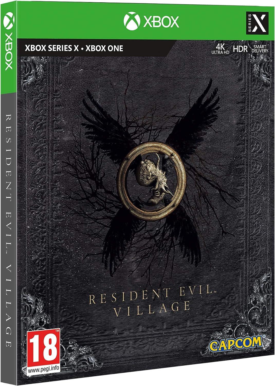 resident evil village steelbook xbox