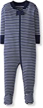 Moon and Back by Hanna Andersson Baby/Toddler Boys' and Girls' One-Piece Organic Cotton Footed Pajama