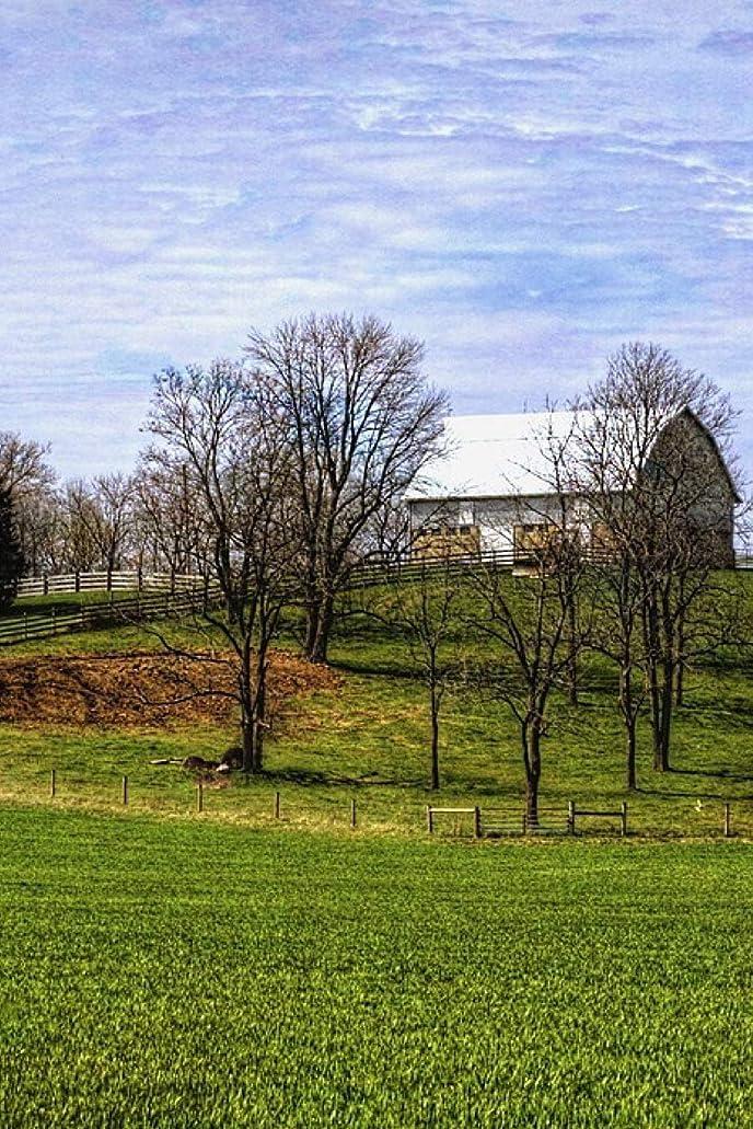 朝ごはん建物繰り返したRural Ohio Countryside and Barn: 150 page lined 6 x 9 notebook/diary/journal