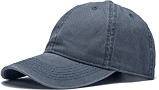 Edoneery Adjustable Low Profile Plain Cotton Baseball Cap Hat(A1004)