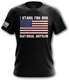 American Flag Military Army Mens T-Shirt Printed & Packaged in The USA