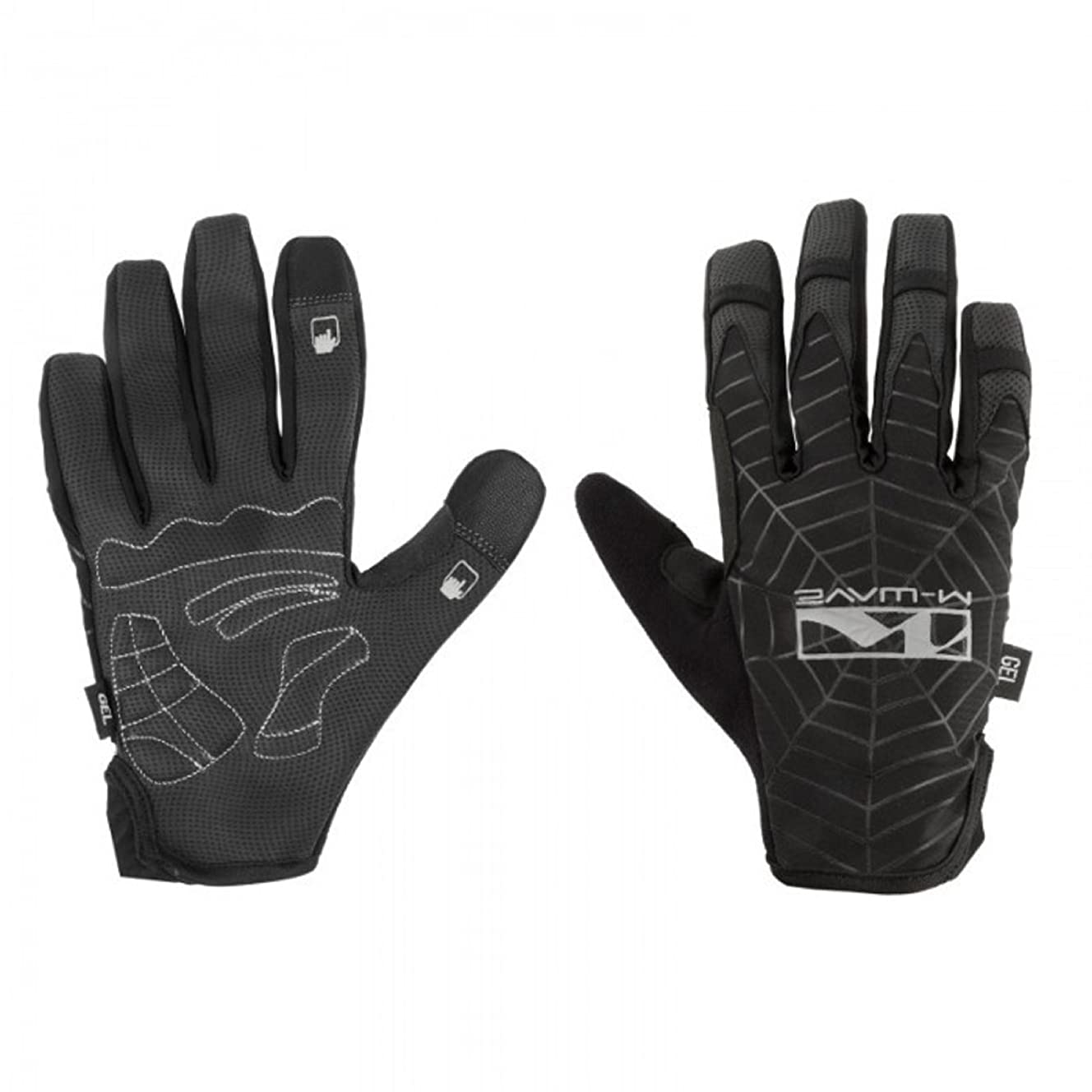 M-Wave Spider Web Full Finger Gloves