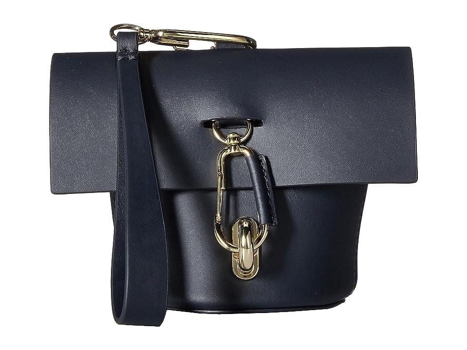 ZAC Zac Posen Belay Museum Wristlet Solid (Navy) Wristlet Handbags