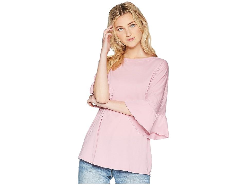 LAmade Erin Ruffle Sleeve Tee (Lilas) Women's T Shirt