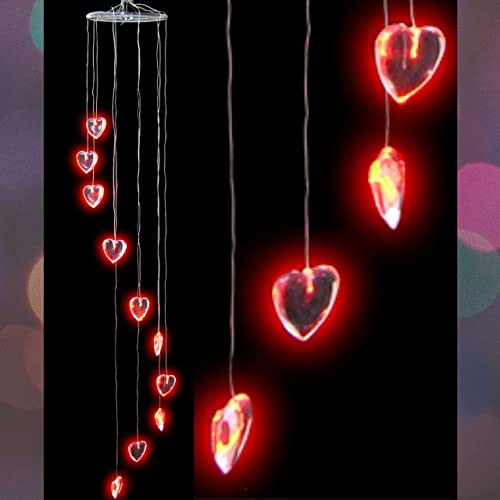 popular BANBERRY DESIGNS LED Heart Mobile - Red Heart Shaped Lights Party 2021 Decoration outlet sale Birthday Holiday Valentine's Day Bridal Shower online sale