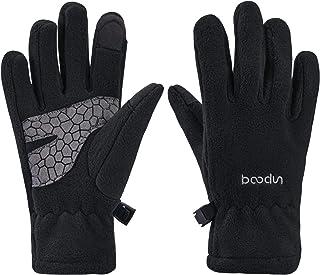 Arcweg Thermal Gloves Polar Fleece Kids for Boys Girls Touch Screen Lightweight Winter Anti-slip Warm Childrens Gloves Out...
