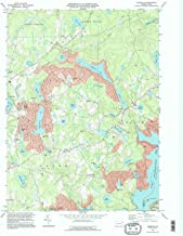 YellowMaps Lakeville PA topo map, 1:24000 Scale, 7.5 X 7.5 Minute, Historical, 1994, Updated 1996, 26.8 x 21.9 in