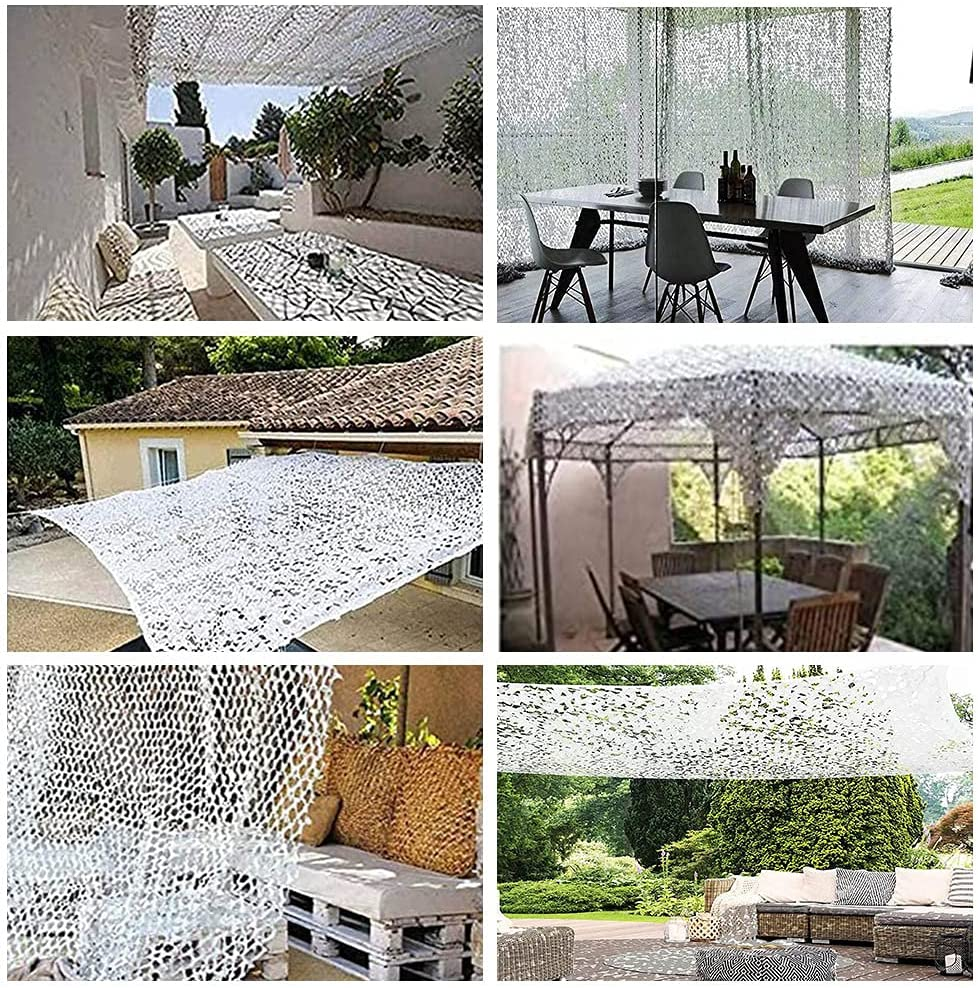 New Shipping Free STCK Camo Netting White Camouflage Shooting Decoration Net Campi Reservation