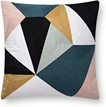 Now House by Jonathan Adler Chain Stitch Fractal Pillow, Multi