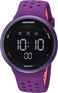 Unisex 40/8423 Digital Chronograph Silicone Strap Watch