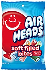Airhead Soft Filled Bites, Non Melting, 6 oz