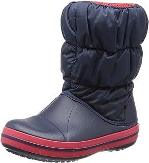Crocs Winter Puff Boot Kids, Botas de Nieve Unisex niños, 33|34