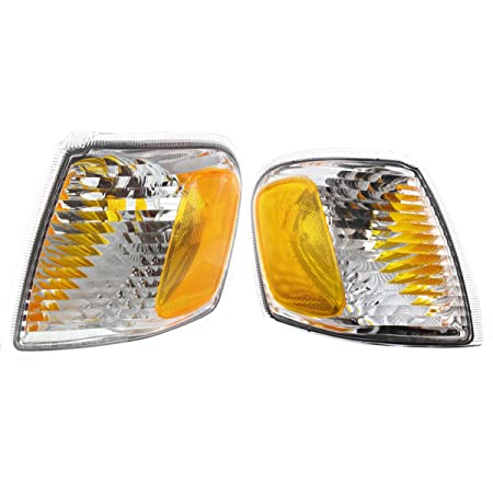 Details about  /NEW LH CORNER LAMP LENS AND HOUSING FOR 1998-2001 MERCURY MOUNTAINEER FO2520160