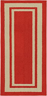 Best tan rug with red border Reviews
