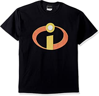 Disney Men's Incredibles Large Logo Graphic T-Shirt