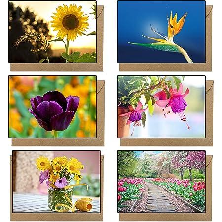Grußkarten Box Landschaften in der Kunst  ~ 10 Kunstpostkarten mit Umschlägen