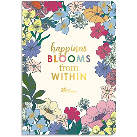 Erin Condren Petite Planner Self Care Journal, Mood Log, Sleep Log, Daily Intentional Setting, and Progress. Includes Inspirational Quotes and Functional Stickers