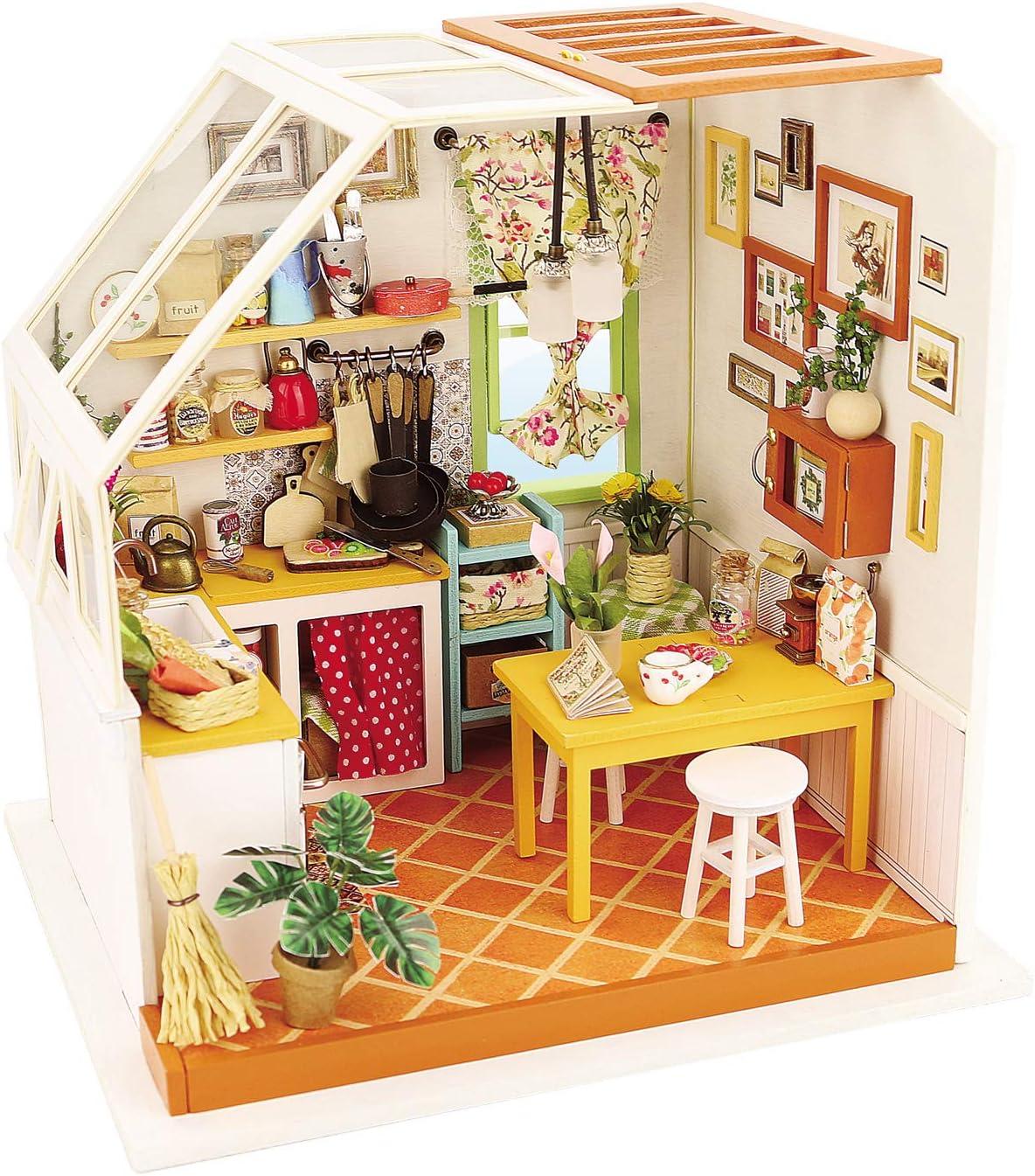 Lowest price challenge DIY Miniature Dollhouse Kit 3D Pre Piece Craft Model Sales results No. 1 Cut