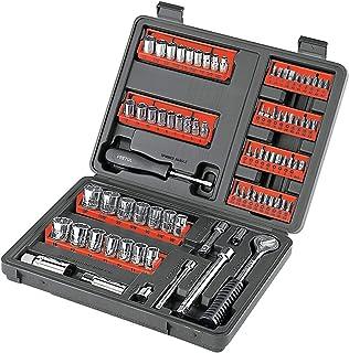 Pretul SET-90, Juego de herramientas para mecánica, 81 piezas