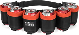 Hopsholster The Original Beer Belt - 6 Can Edition - The Ultimate in Beer Belts
