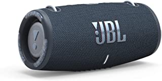 JBL Xtreme 3: Portable Speaker with Bluetooth, Built-in Battery, Waterproof and Dustproof Feature - (Blue)