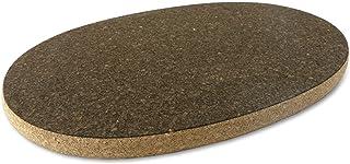 Cleverbrand Kork varm dyna underlägg, oval, ca 34 x 22 cm (13 x 9 tum), Design: Smörgås