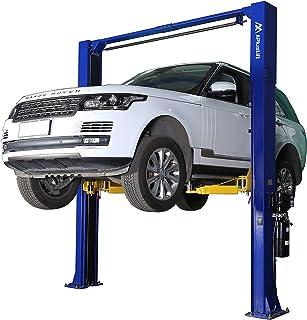 APlusLift HW-10KOH 10,000LB Two Post Overhead Auto Hoist Clear Floor Car Lift with Combo (Symmetric and Asymmetric) Arms /...