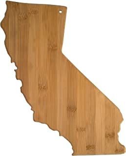 Totally Bamboo California State Shaped Bamboo Serving & Cutting Board