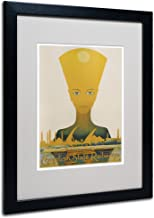 Egyptian State Railway Artwork by Vintage Apple Collection, Black Frame, 16 by 20-Inch