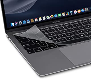 """Moshi ClearGuard Keyboard Protector for MacBook Air 13"""" (2018-2019/US Layout), 0.1mm Thin, Washable & Reusable, Non-Toxic,..."""