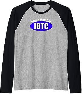 Itty Bitty Titty Committee Gift Women Small Boob Breast IBTC Raglan Baseball Tee
