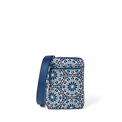 Baggallini Anti-Theft Activity Crossbody (Moroccan Print) Handbags
