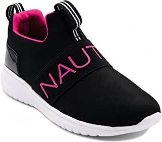 Nautica Kids Girls Youth Fashion Sneaker Running Shoes -Slip On- Little Kid / Big Kid