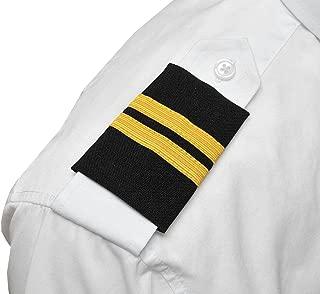 Professional Pilot Uniform Epaulets - Two Bars