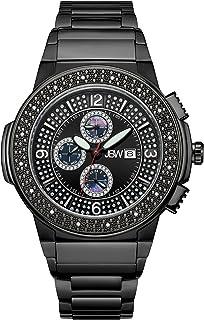 JBW Mens Quartz Watch, Analog Display and Stainless Steel Strap JB-6101-G