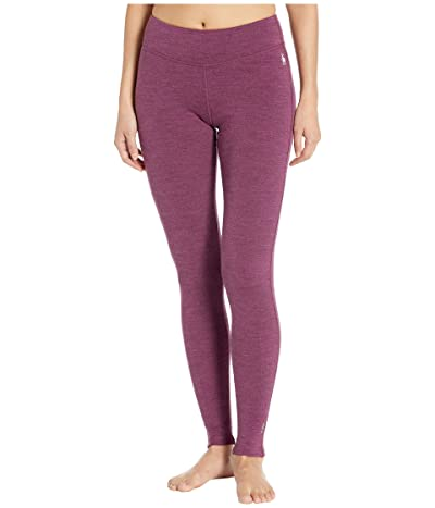 Smartwool Merino 250 Base Layer Bottoms (Sangria Heather) Women