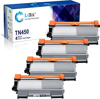 Best LxTek Compatible Toner Cartridge Replacement for Brother TN-450 TN450 TN420 to use with MFC-7360N DCP-7065DN IntelliFax 2840 2940 MFC-7860DW MFC-7460DN HL-2270DW MFC7240 Printer (Black, 4 Pack) Review