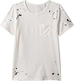 Waverly Splatter Pocket Tee (Big Kids)