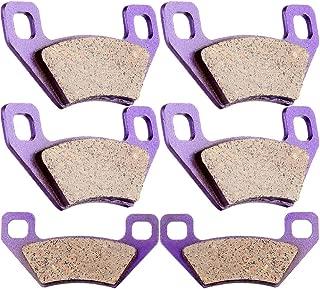 SCITOO Kevlar Carbon Fiber Brake Pads Fit for 04 05 06 07 08 09 10 11 12 13 14 Arctic Cat,08 09 10 11 12 KYMCO