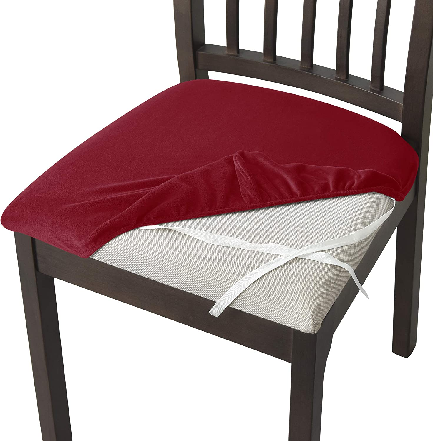 Yupartex Velvet Dining Mail order Chair Soft In a popularity Stretch Slipcover Seat