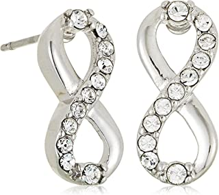 MESTIGE Women Crystal Only You Earrings with Swarovski Crystals